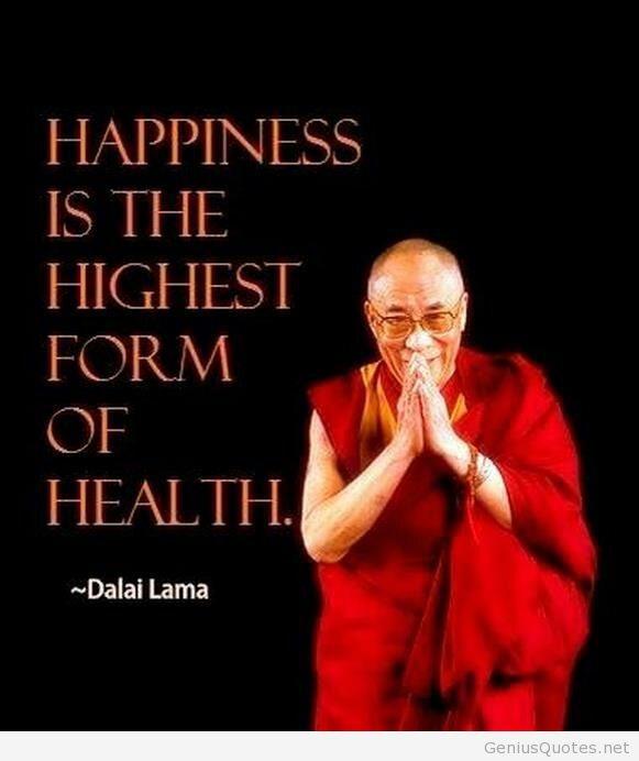 Health Happiness Quote Dalai Lama Peacehaven Chiropractic