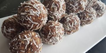Cashew and Ginger Protein Balls